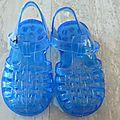 Sandales en plastique t22
