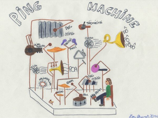 Ping Machine dessin fin de Festivaïe 2014
