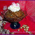 Mousse au chocolat pralinée