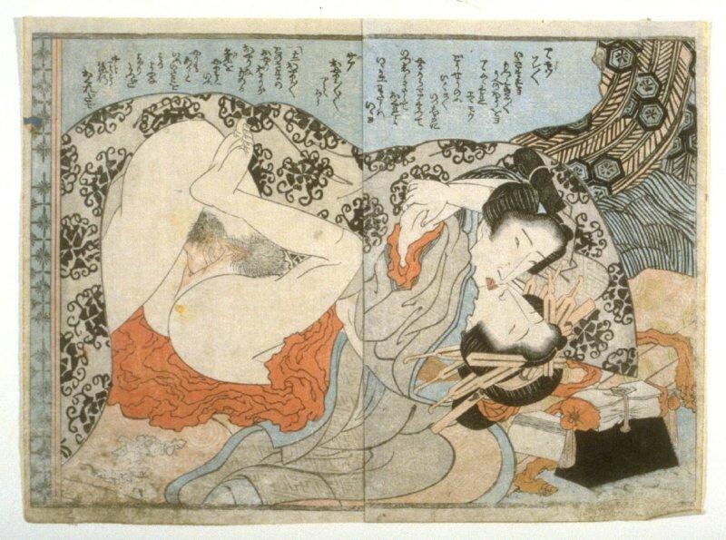 Katsushika Hokusai Shunga 19