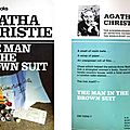 Agatha christie : the man in the brown suit