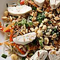 Salade de poulet d'inspiration vietnamienne