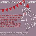Psst, y a des soldes avant les soldes !