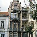 Les maisons van dyck et saint cyr à bruxelles