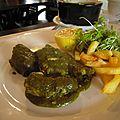 anguille au vert