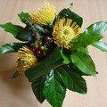 le bouquet d'anniversaire 50 ans de mes collègues