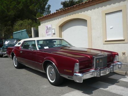 LINCOLN Continental Mark IV Cartier 2door hardtop 1973 Poussan (1)