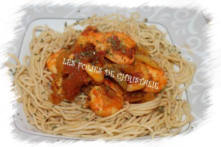 Curry de crevettes 4