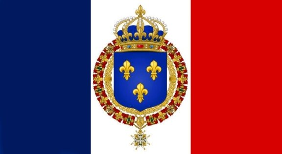 Voici le drapeau qui bientôt flottera sur l'Elysée et toute la France