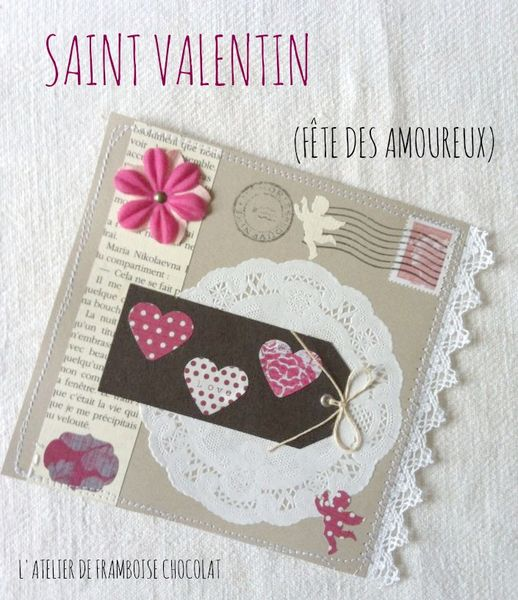 Carte Saint Valentin