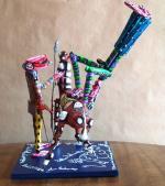 MATTEI Don Quichotte Ma Dulcinée 2014 48 x 35 x 30
