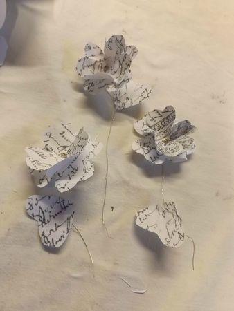 Fleurs de papier (4)