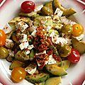 Salade couleurs d' été