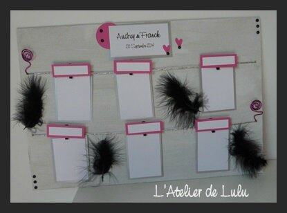 plan de table plumes