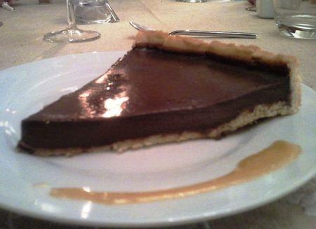 tarte choco 2
