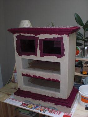 ma commode en carton rue du marais. Black Bedroom Furniture Sets. Home Design Ideas