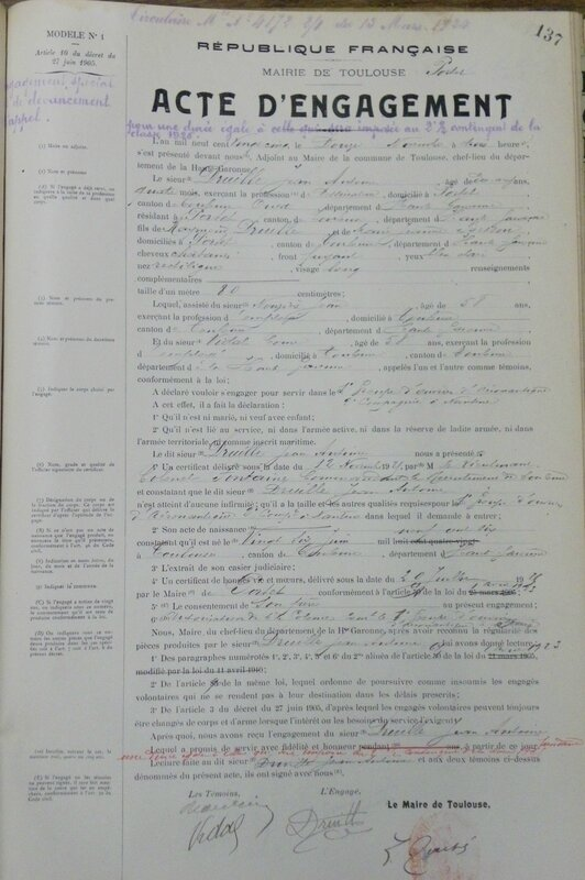 Ficheengagementmilitaire1925