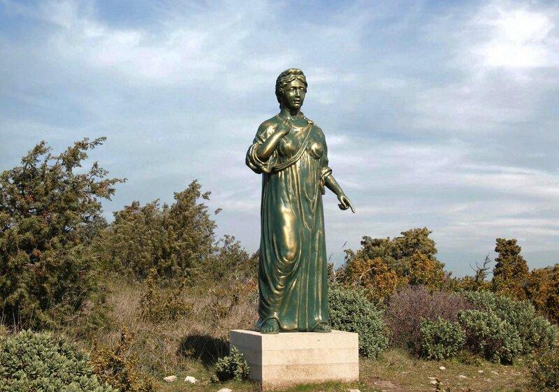 prêtresse romaine