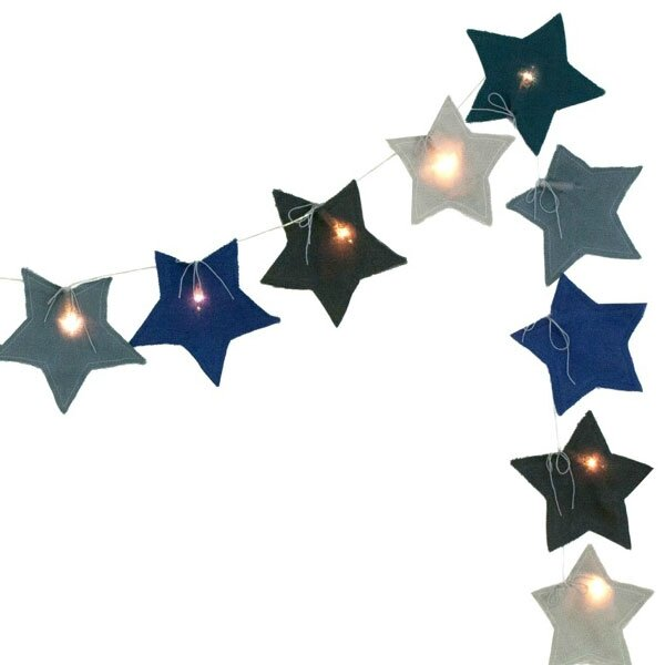 guirlande lumineuse etoile bleu N*74: 39.50€