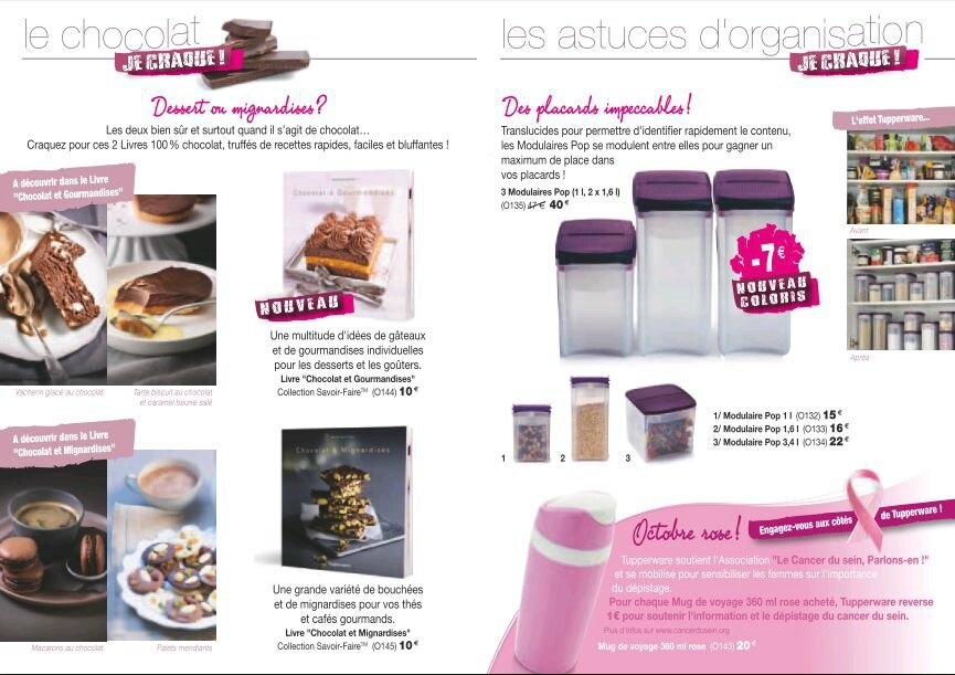 promotion tupperware octobre 2014