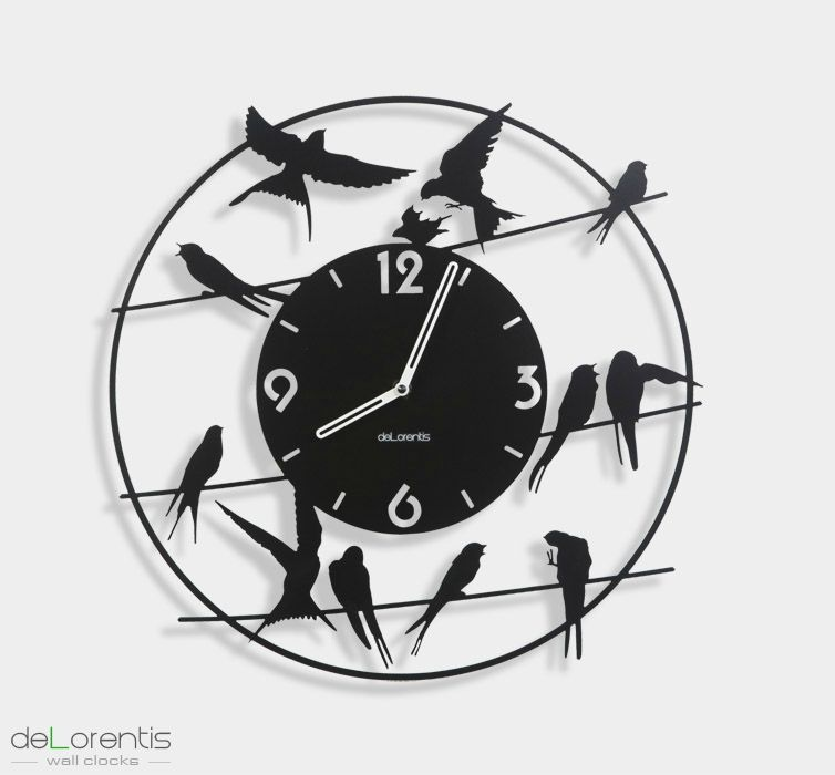 horloge design birdy rex temporis horloges murales. Black Bedroom Furniture Sets. Home Design Ideas