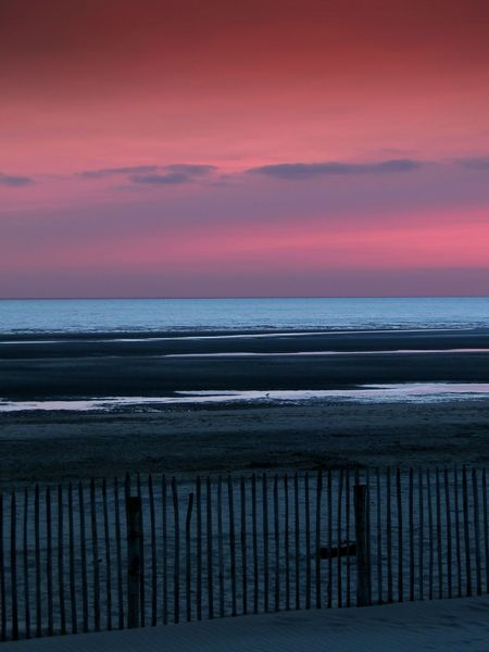plage le Touquet 2013 photo valerie albertosi coucher de soleil