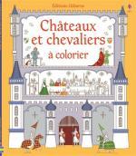 chateaux et chevaliers à colorier