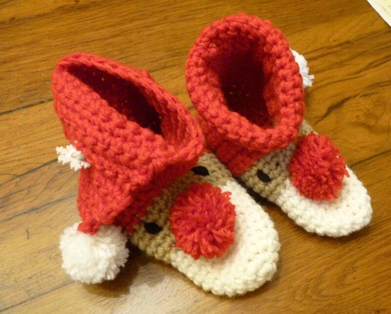 chaussons Noël (6)