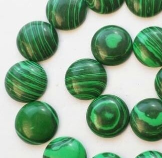 Malachite synthétiques