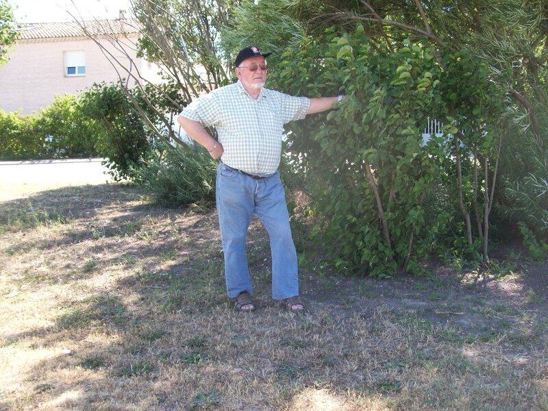 Gilbert juin 2014 ;promenade,roque