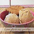 Crme glace au speculoos