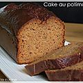 Cake au potimarron