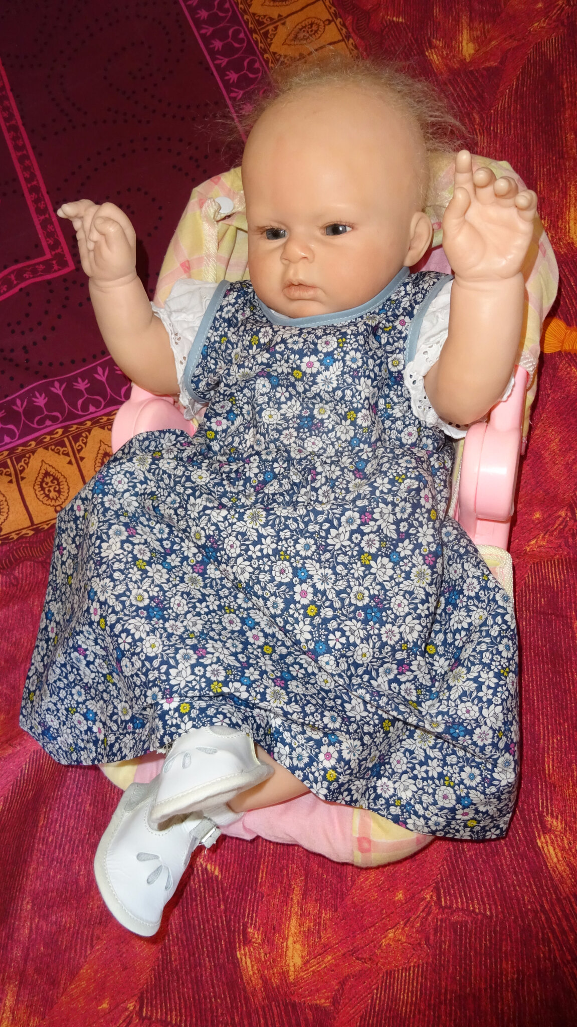 Robe pour bébé taille 3/6 mois - ANNE COUTURE CREATIONS -Robes de ...