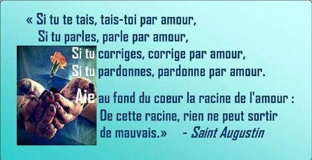 paroles de st augustin
