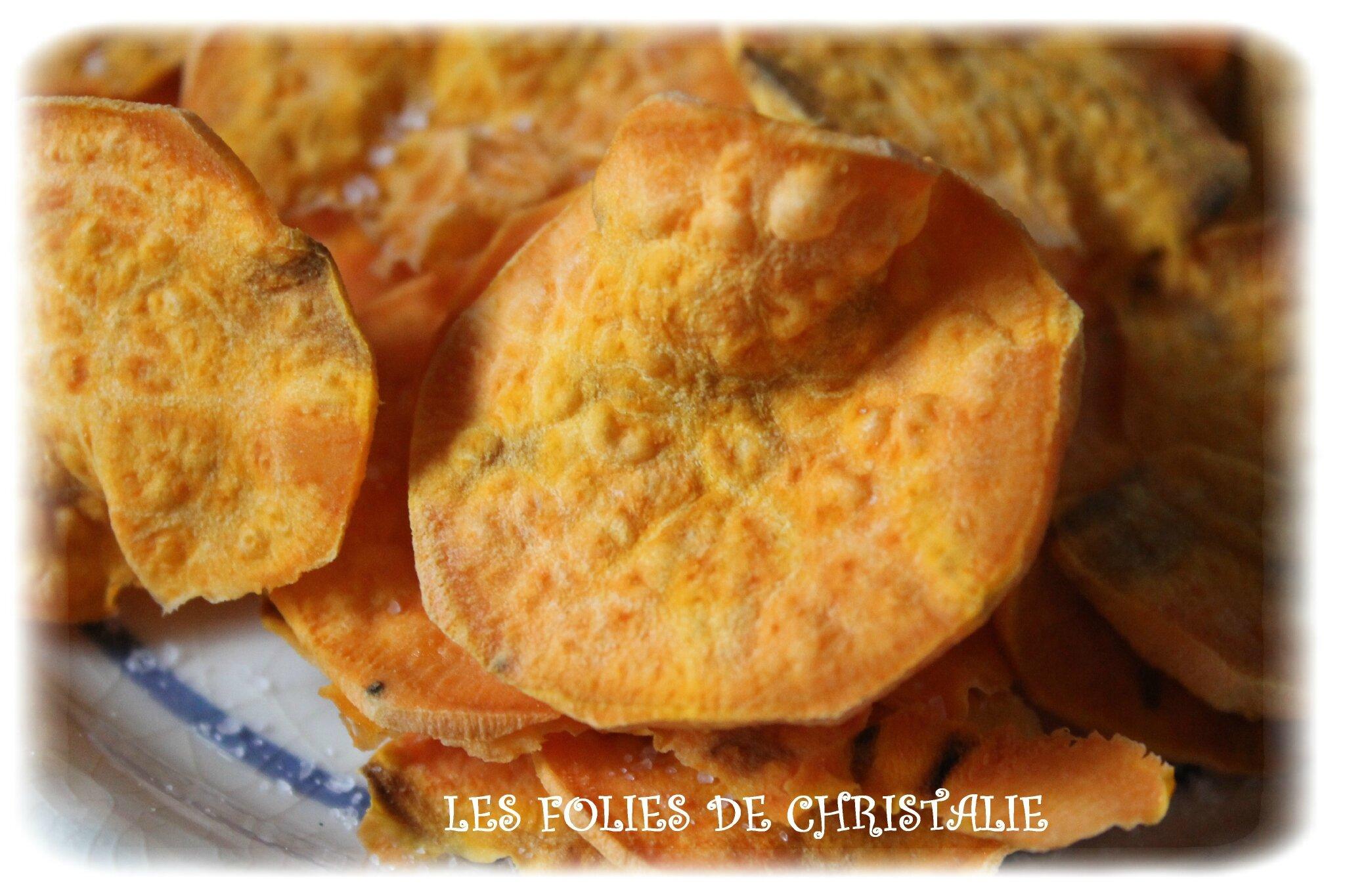chips de patates douces les folies de christalie ou quand la cuisine devient passion. Black Bedroom Furniture Sets. Home Design Ideas