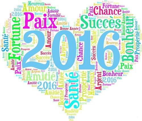 bonne année 2016--