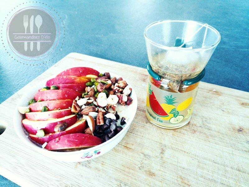 Porridge pomme et fruits secs (1)