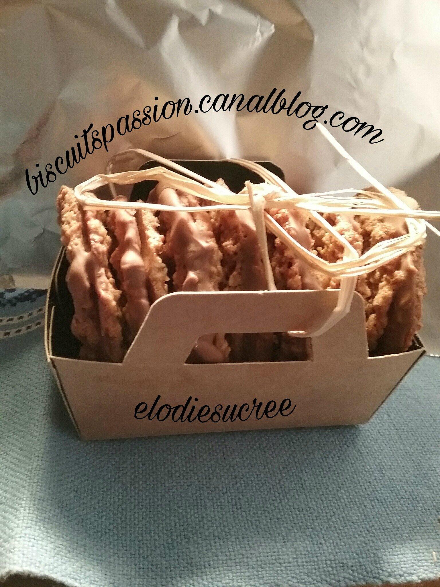 Biscuits ax flocons d'avoine, avec ou sans chocolat, comme chez IKEA ( CHOKLADFARN )!!