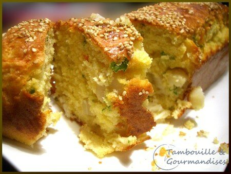 Recette Cake Tomate Mozza Curry