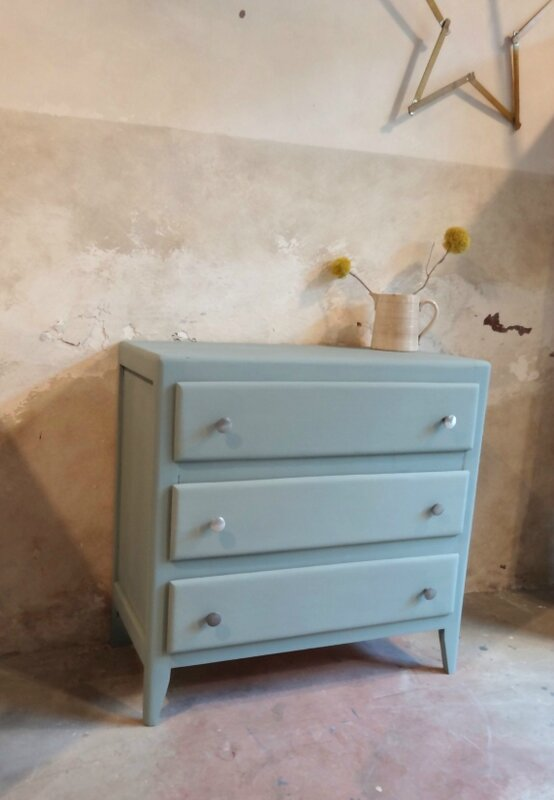 commode annees 60 profil