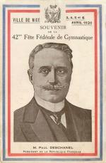 CPA Nice 42e Fête gymnastique Paul Deschanel