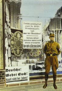 Le boycott des magasins juifs en 1933