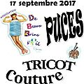 Puces tricot & couture
