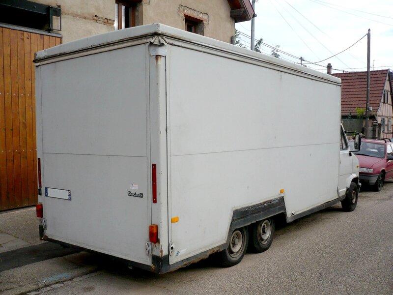 CITROËN C25 1400 Durisotti magasin double essieu Wingersheim (2)