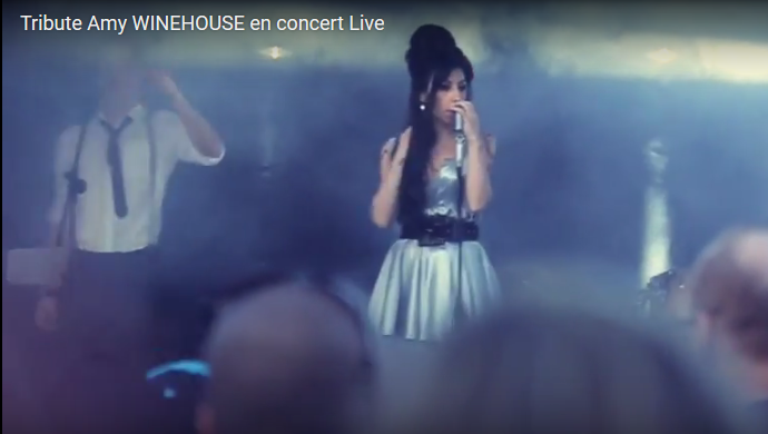 Tribute Amy WINEHOUSE en concert Live 02