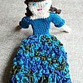 Mme Bouclettes bleues 7