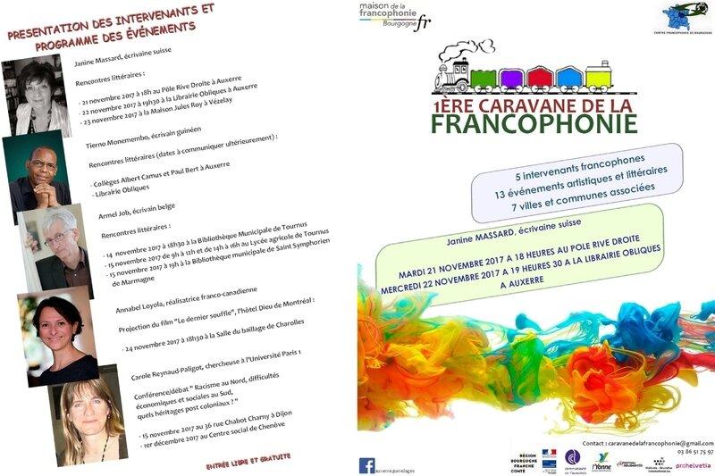 caravane de la francophonie
