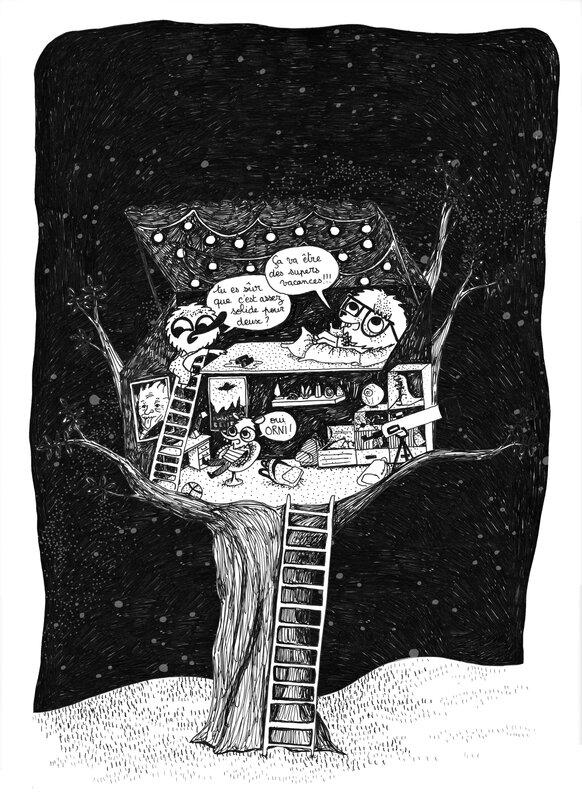 cabane nuit