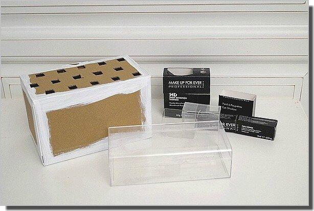 diy rangement make up le blog du diy. Black Bedroom Furniture Sets. Home Design Ideas