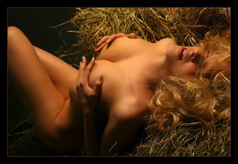 Passion in the hay